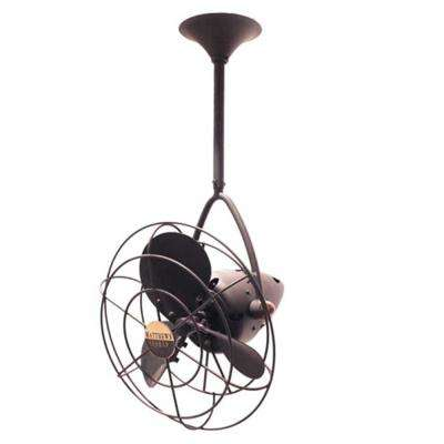 Jarold Direcional 13 in. Indoor/Outdoor Black Nickel Ceiling Fan with Wall Control
