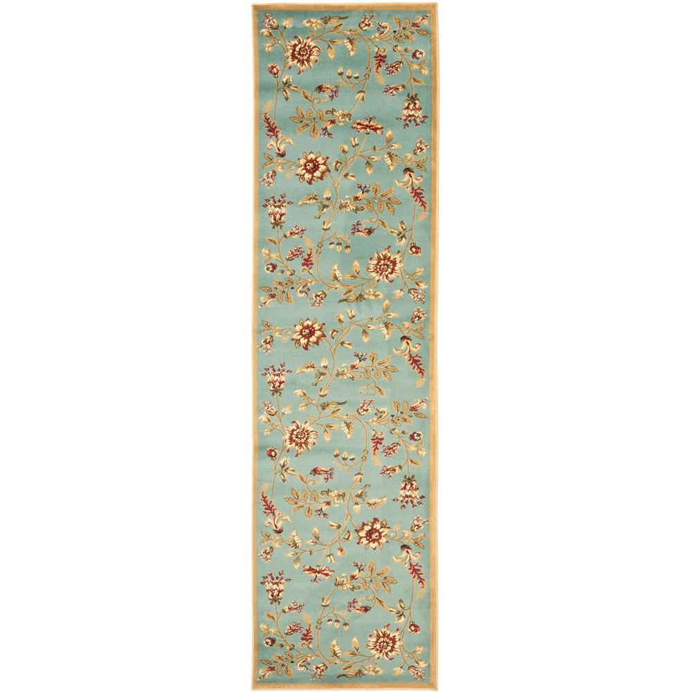 Lyndhurst Blue/Multi 2 ft. 3 in. x 12 ft. Runner