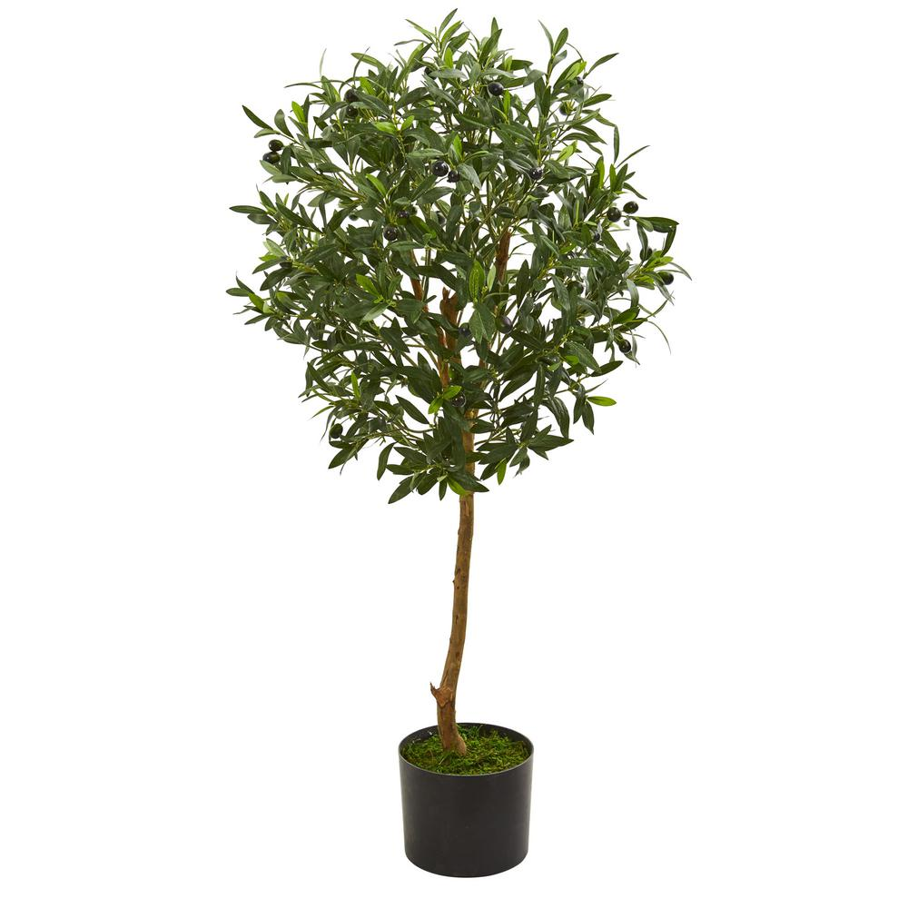 Nearly Natural Indoor 3 5 In Olive Artificial Tree 5565