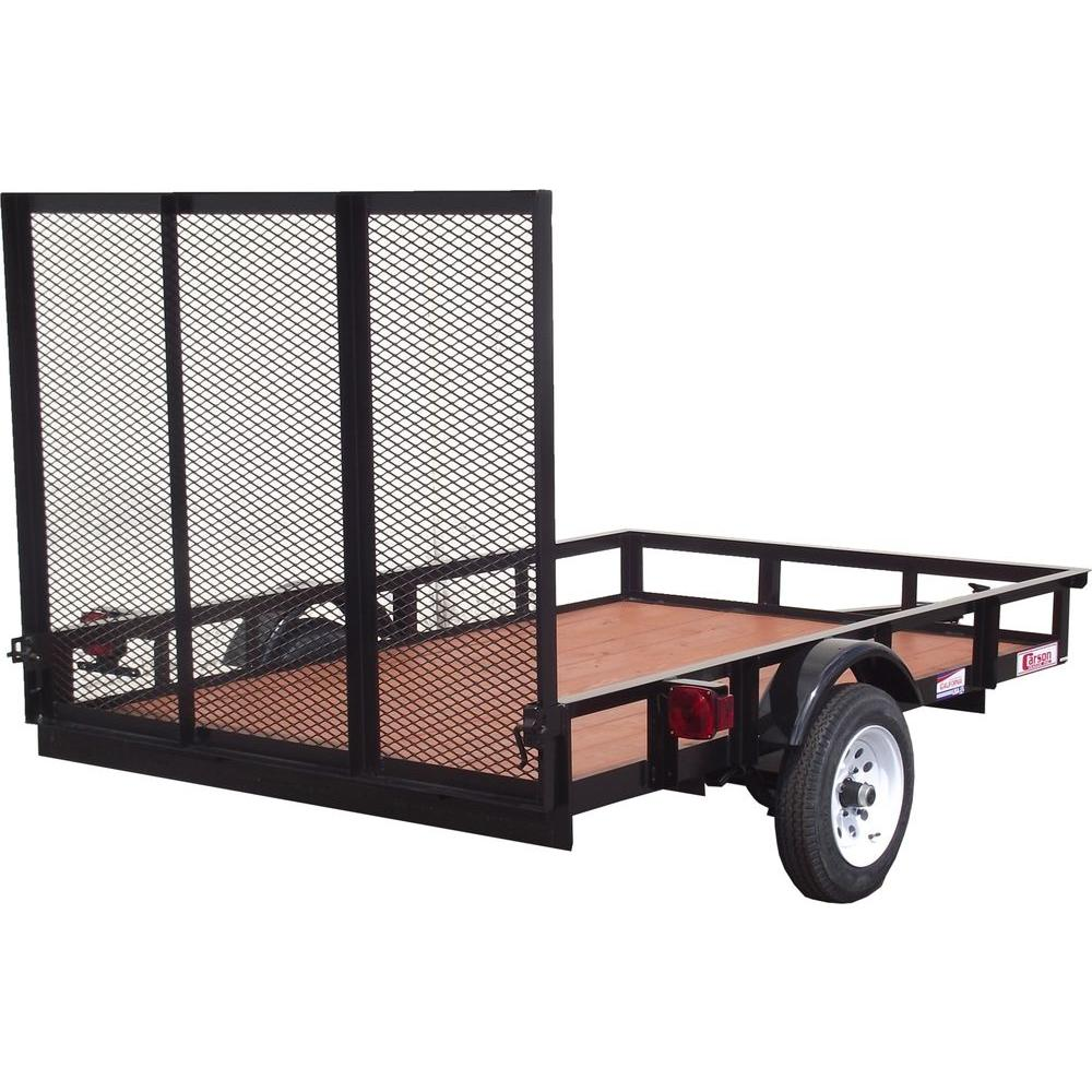 Husky 5 Ft X 8 Ft Utility Trailer Su5081 The Home Depot