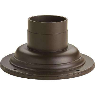 Antique Bronze Pedestal Mount for Post Lanterns