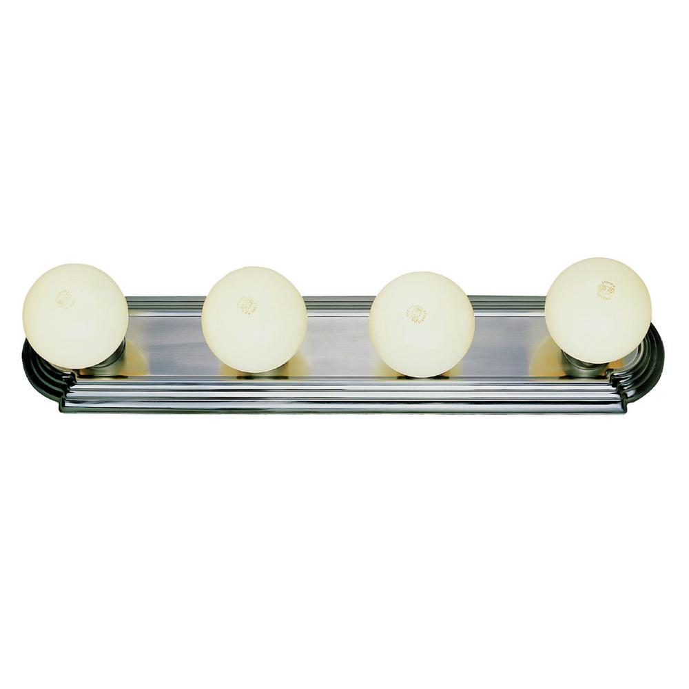 Northridge 4-Light Polished Chrome Bath Vanity-Light