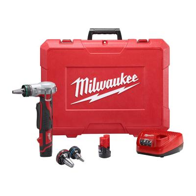 M12 12-Volt Lithium-Ion Cordless ProPEX Expansion Tool Kit with (2) 1.5Ah Batteries, (3) Expansion Heads and Hard Case