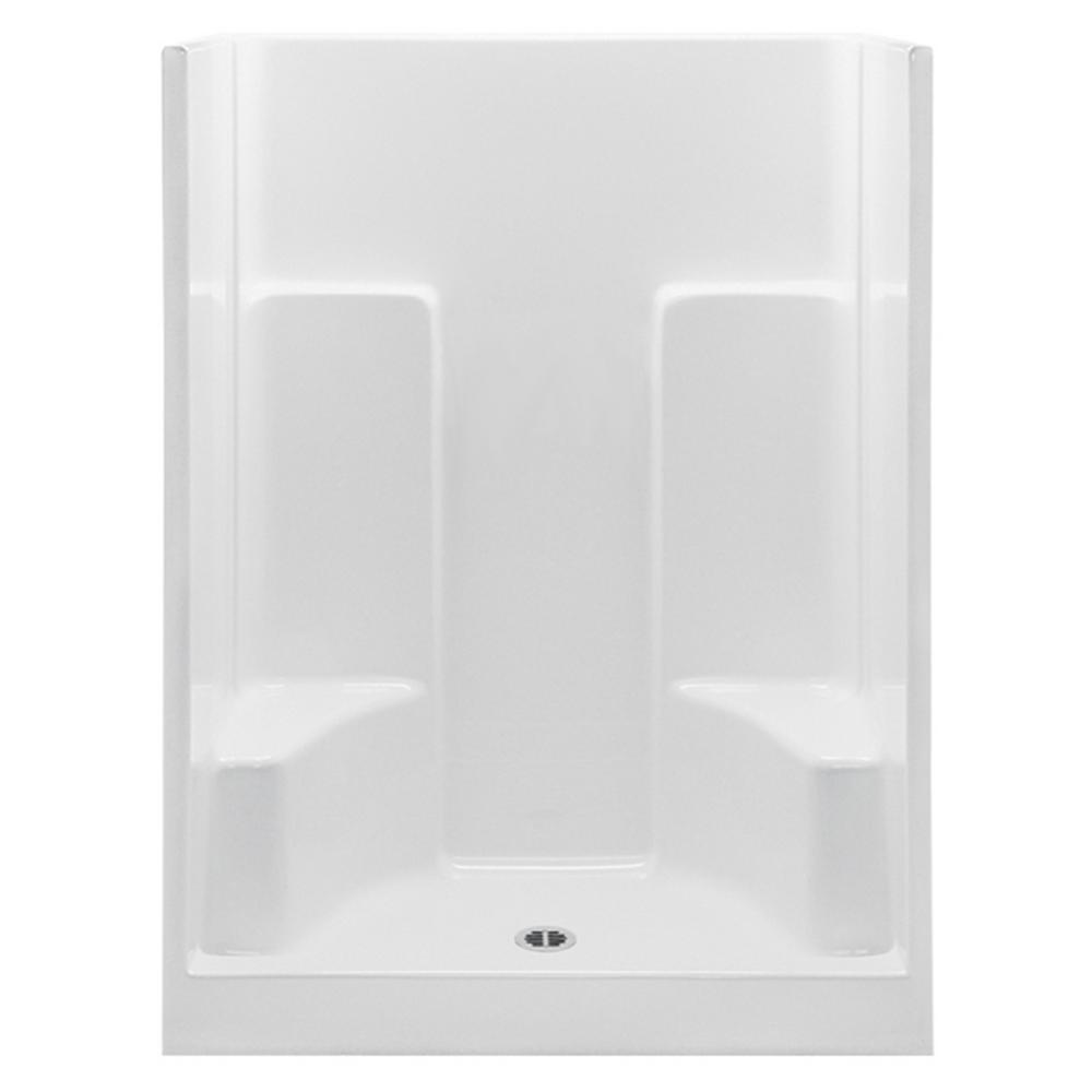 shower stalls with seats. Aquatic Everyday 54 In. X 35 72 1-Piece Shower Stalls With Seats