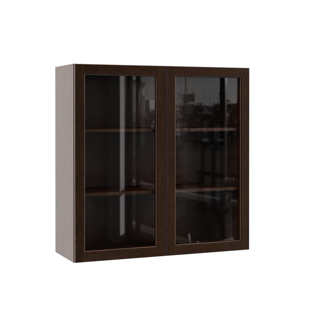 Kitchen Wall Cabinet With Gl Doors