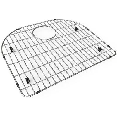 10.125 in. x 17.5 in. Bottom Grid for Kitchen Sink in Stainless Steel