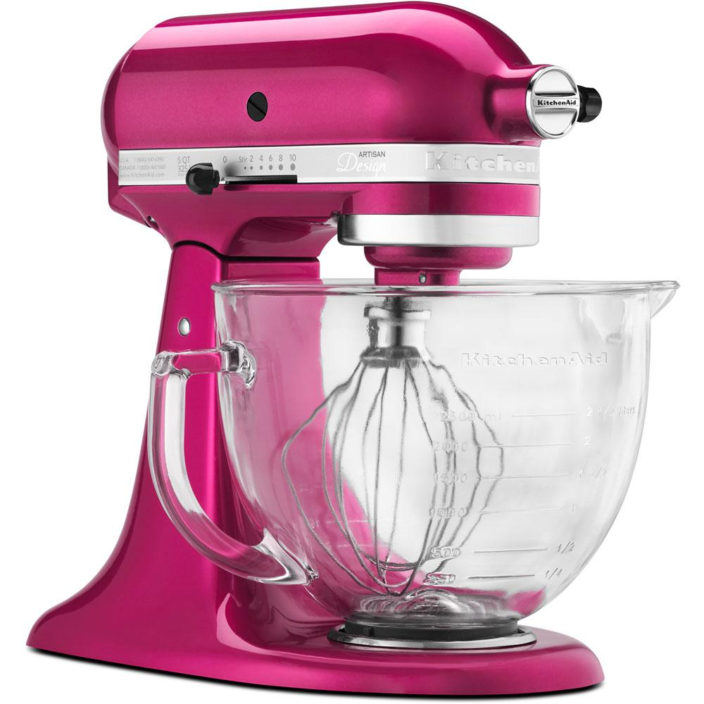 Kitchenaid Artisan Designer 5 Qt Raspberry Ice Stand Mixer