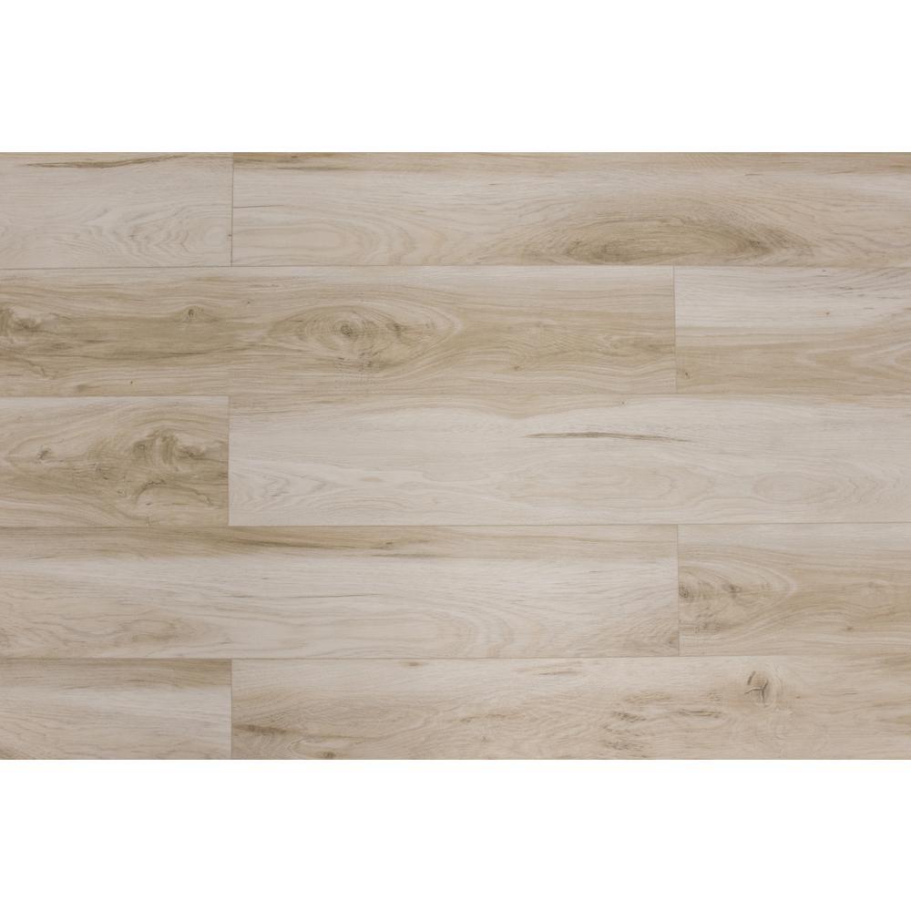 Montserrat Veritas Provincial Swan 7 In W X 60 In L Spc Vinyl Plank Flooring 18 06 Sq Ft Mnst 2019063 The Home Depot