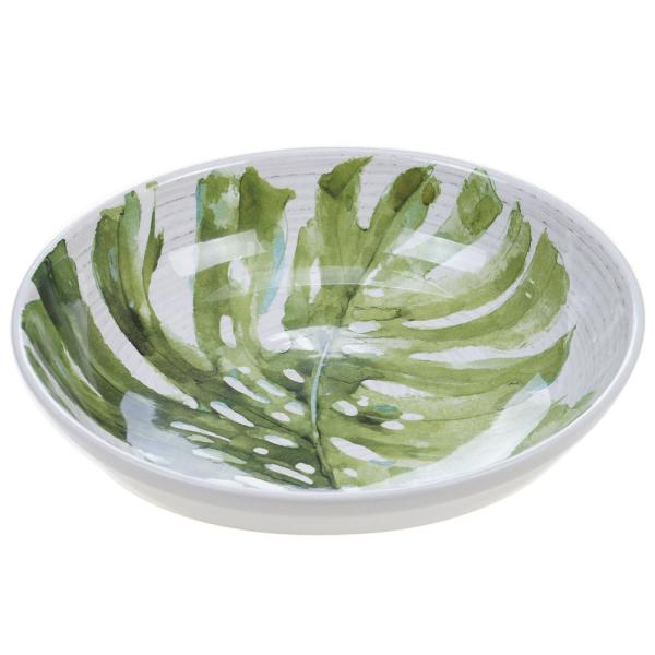 Certified International Palm Leaves 136 oz. Serving Bowl 22200