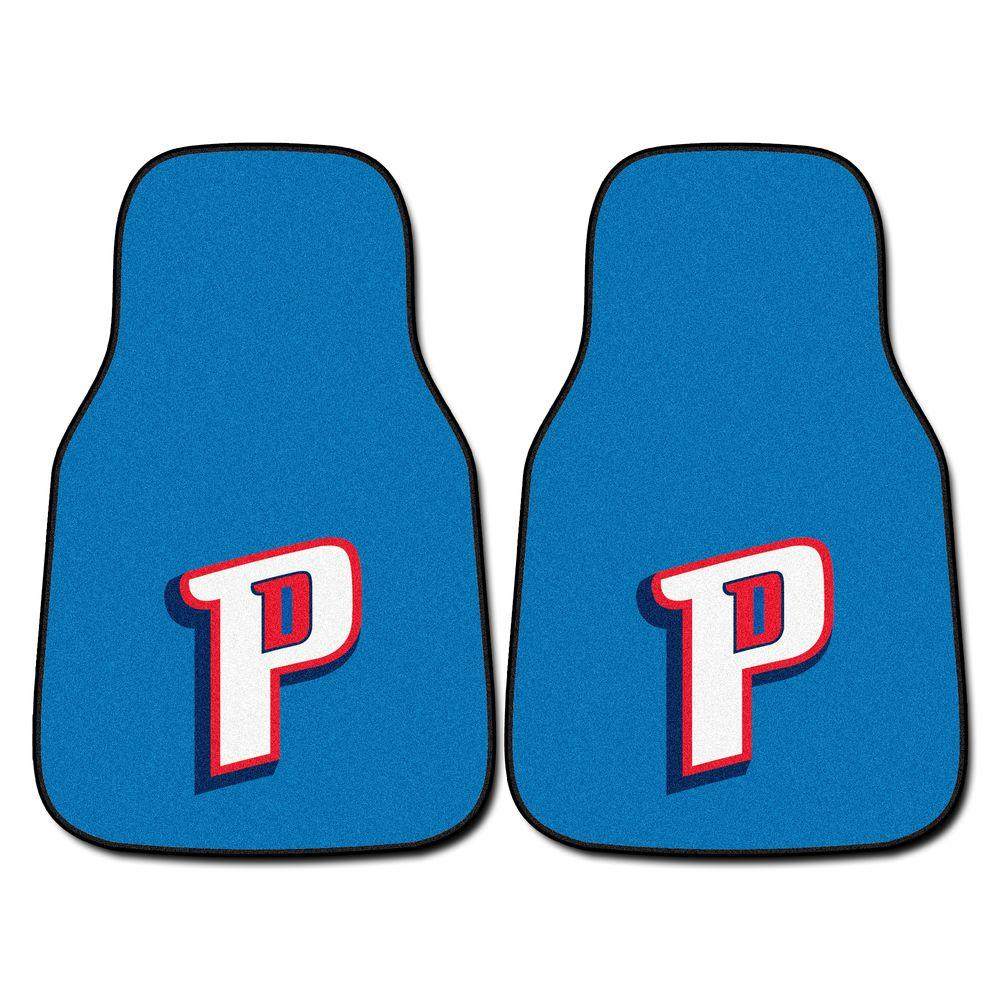 Fanmats Detroit Pistons 18 In X 27 In 2 Piece Carpeted
