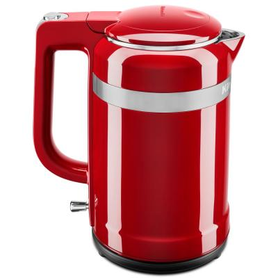 KitchenAid-6.3-Cup Empire Red Electric Kettle with Dual Wall Insulation