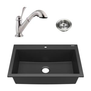 L Drop-in Sink With Faucet Ledge,21 In Business & Industrial