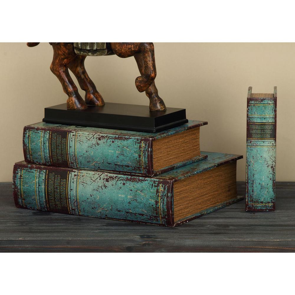 Decorative Book Boxes (Set of 3)
