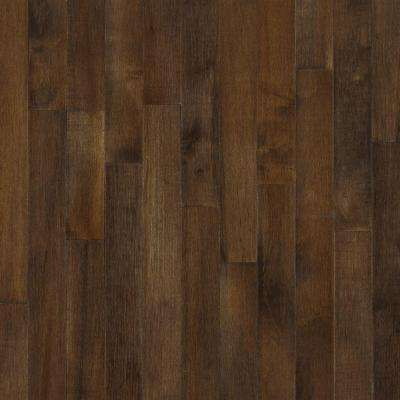 American Originals Carob Maple 3/8 in. Thick x 3 in. Wide x Varying Length Eng Click Lock Hardwood Floor(22 sq.ft./case)