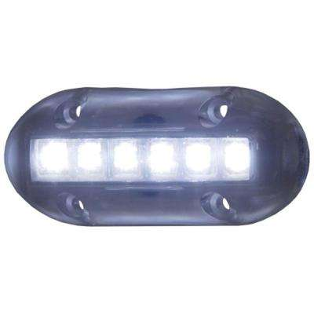 High-Intensity Underwater LED Lights in White