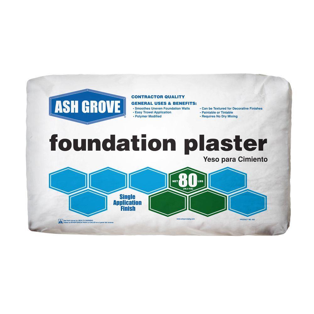 Ash Grove 80 lb. Foundation Plaster Concrete Mix