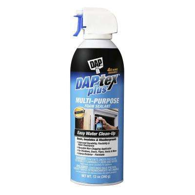 Daptex Plus 12 oz. White Window and Door Foam Sealant