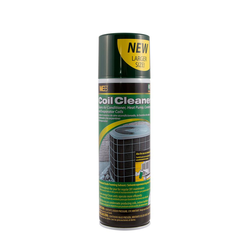 Web 19 Oz Condenser Coil Cleaner