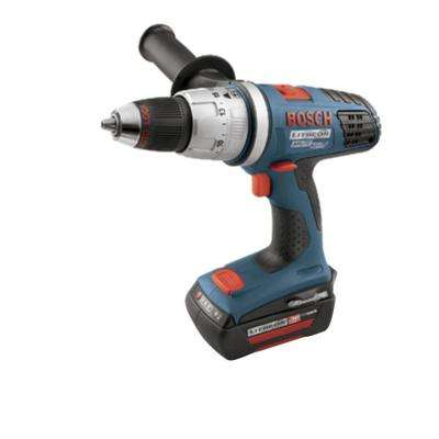 36 Volt Lithium-Ion Cordless Variable Speed 1/2 in. Brute Tough Hammer Drill/Driver Kit