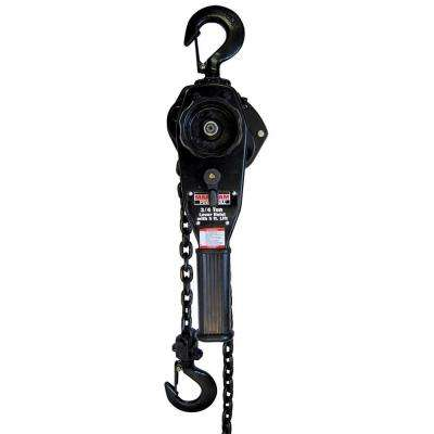 3/4 Ton Lever Hoist with 5 Ft. Lift