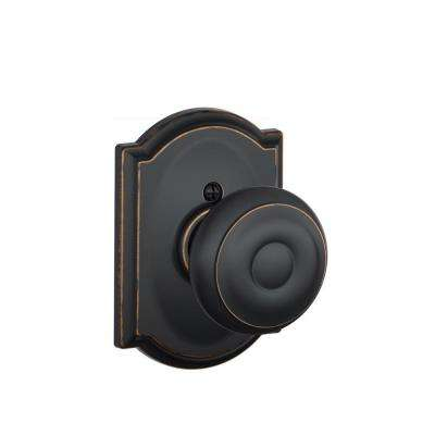 Camelot Collection Georgian Aged Bronze Dummy Knob