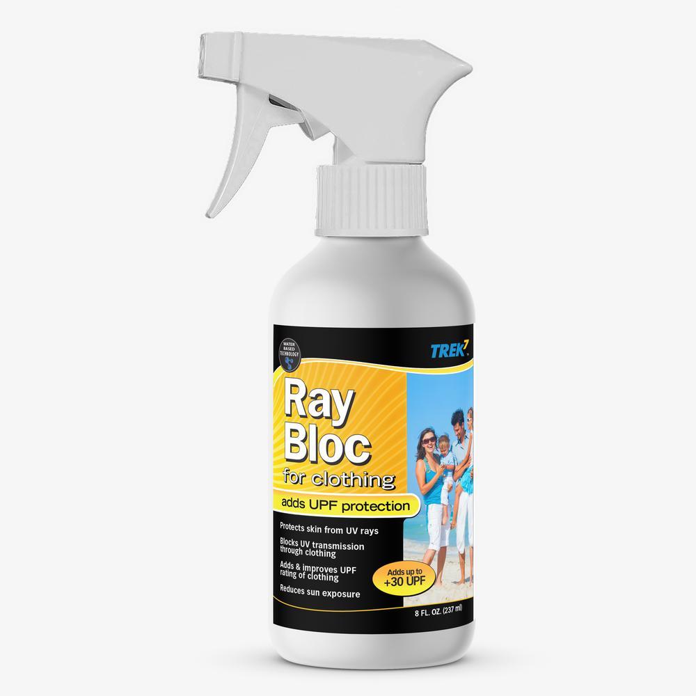 Trek7 Ray Bloc 8 oz. UV Fabric Protector for Clothing