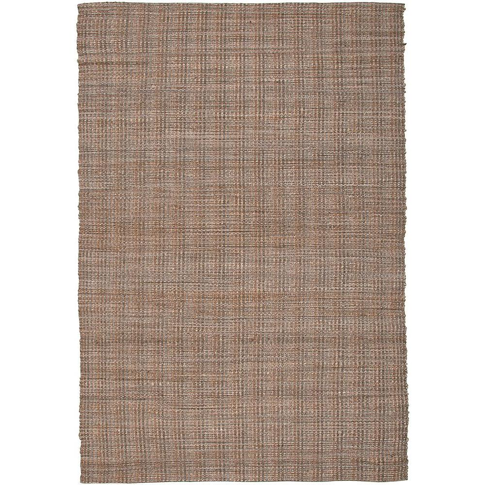 LR Resources Contemporary Hebrides Rectangle 9 ft. x 12 ft. Braided Natural Fiber Indoor Area Rug