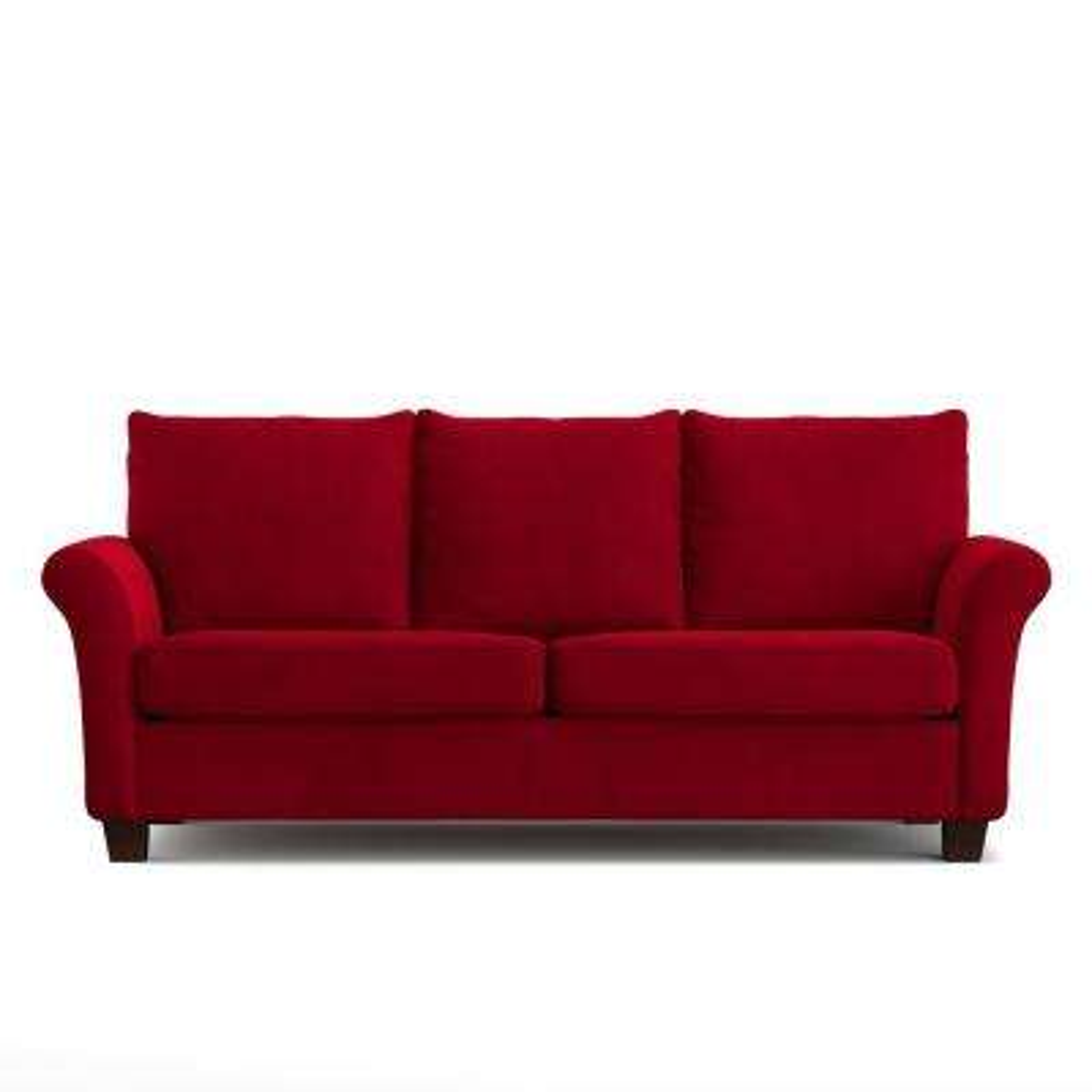 Rockford SoFast Sofa in Red Velvet