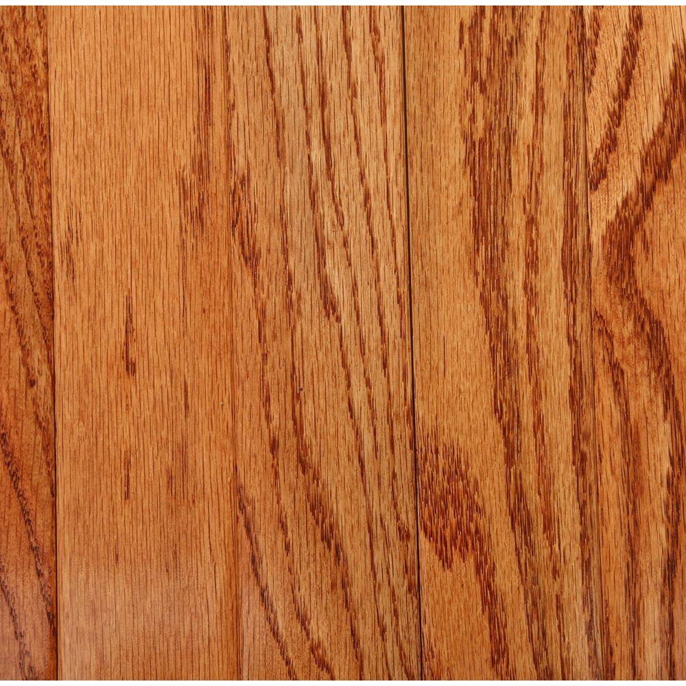 Bruce Plano Marsh Oak 3 4 In Thick X 2 1 4 In Wide X Varying