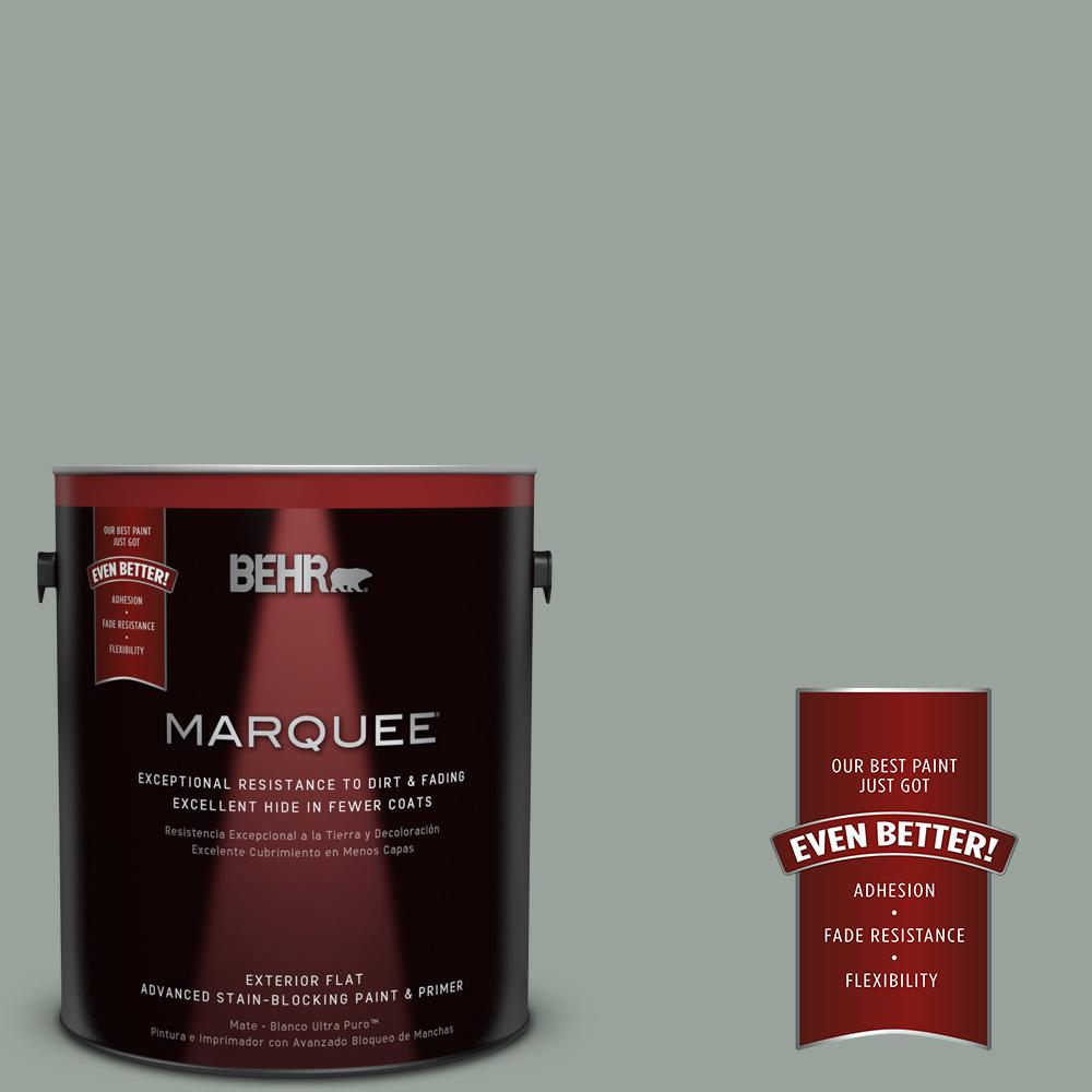 BEHR MARQUEE 1-gal. #700F-4 Pinedale Shores Flat Exterior Paint