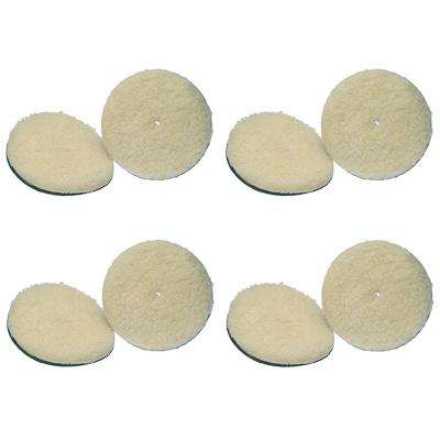 6 in. Lambswool Pads (8-Pack)