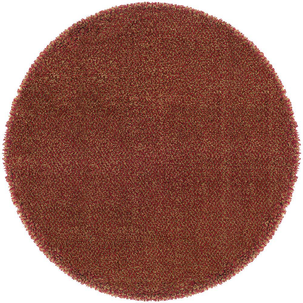 Home Decorators Collection Urban Loft Red Gold 8 Ft X 8