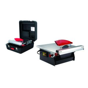 Rubi ND-180-BL Table Saw with Case and 2 Blades 28 inch Cut by Rubi