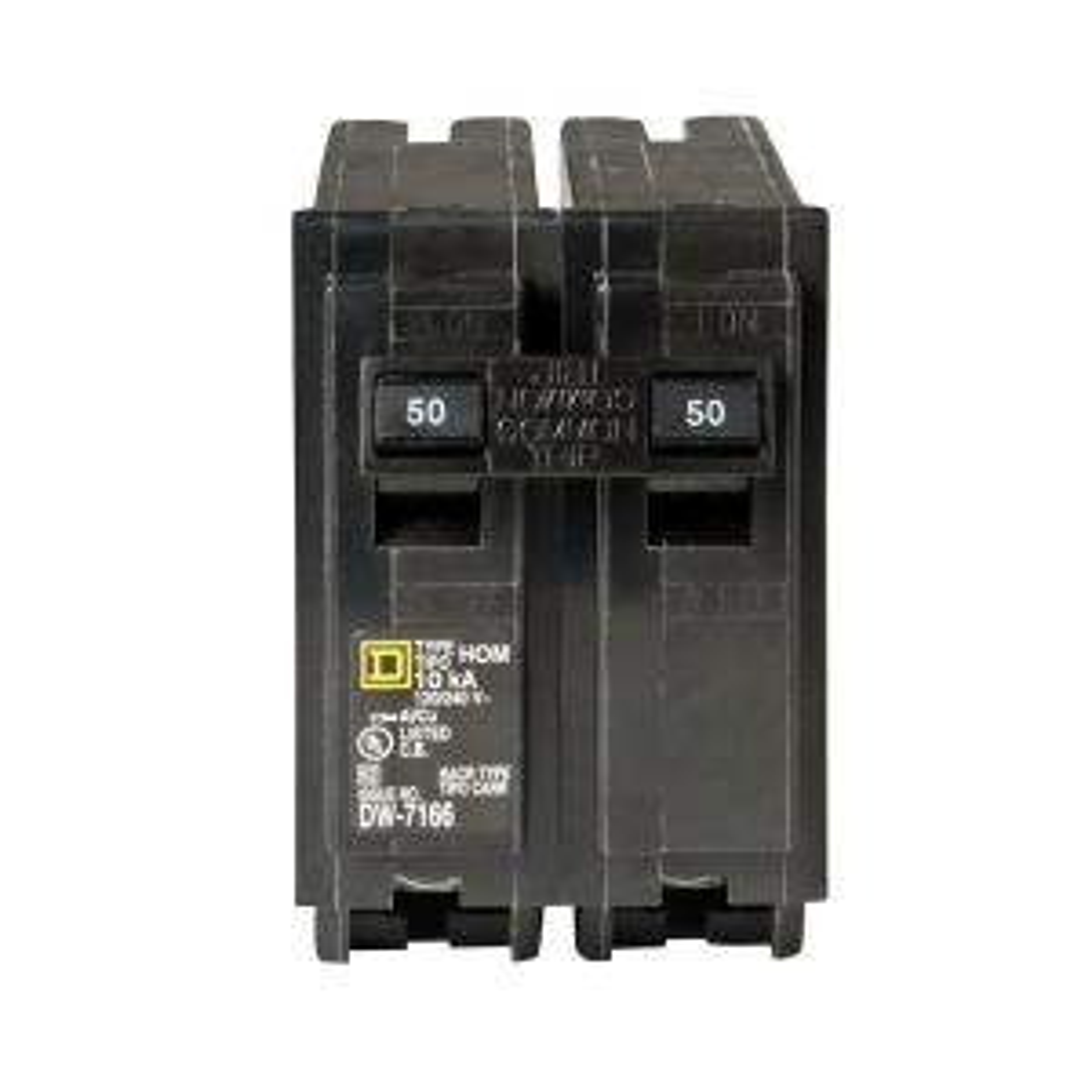 Square D Homeline 20 Amp Single-Pole Circuit Breaker-HOM120CP - The ...