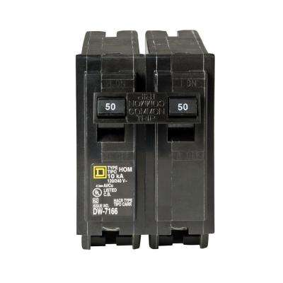 Homeline 50 Amp 2-Pole Circuit Breaker