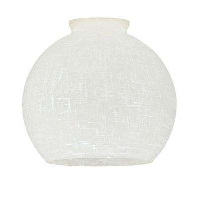 4-7/8 in. Handblown Linen Globe with 2-1/4 in. Fitter and 5-1/4 in. Width