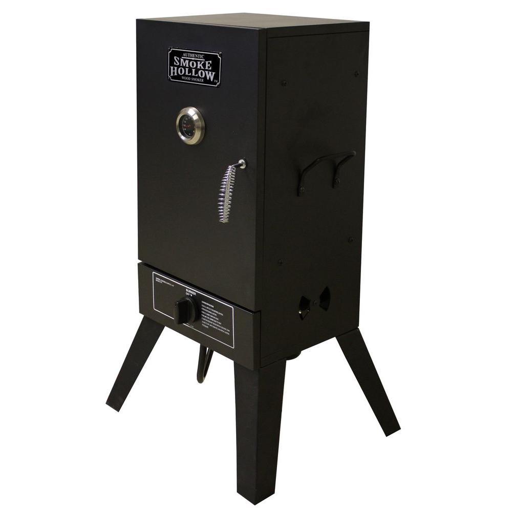 26 in. Vertical Propane Gas Smoker