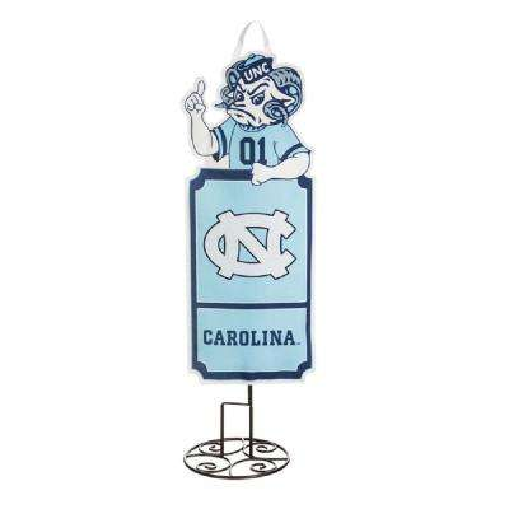 1-1/10 ft. x 3 ft.  University of North Carolina Statement Stake