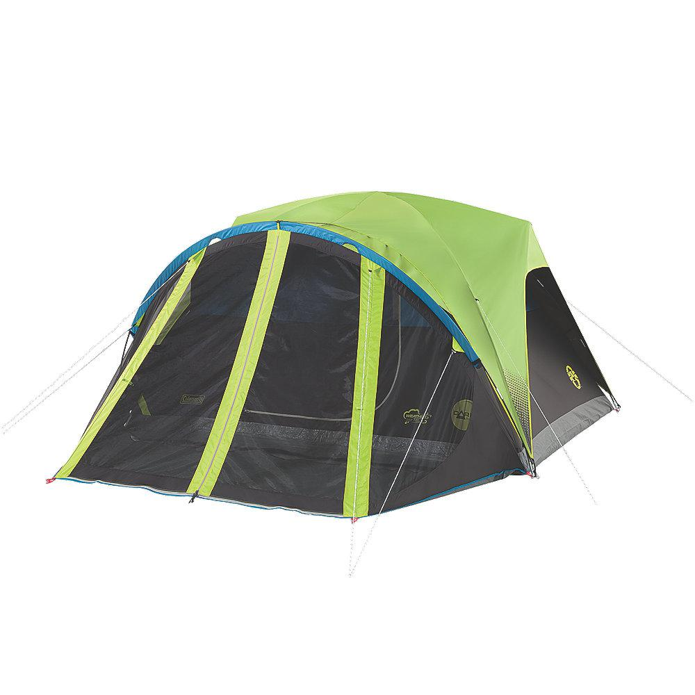 Carlsbad 4-Person 9 ft. x 7 ft. Dome Tent with Screen Room  sc 1 st  The Home Depot & Camping Tents - Tents u0026 Shelters - The Home Depot