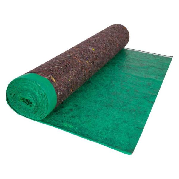 100 sq. ft. 3.67 ft. x 27.3 ft. Premium Felt Cushion Underlayment Roll