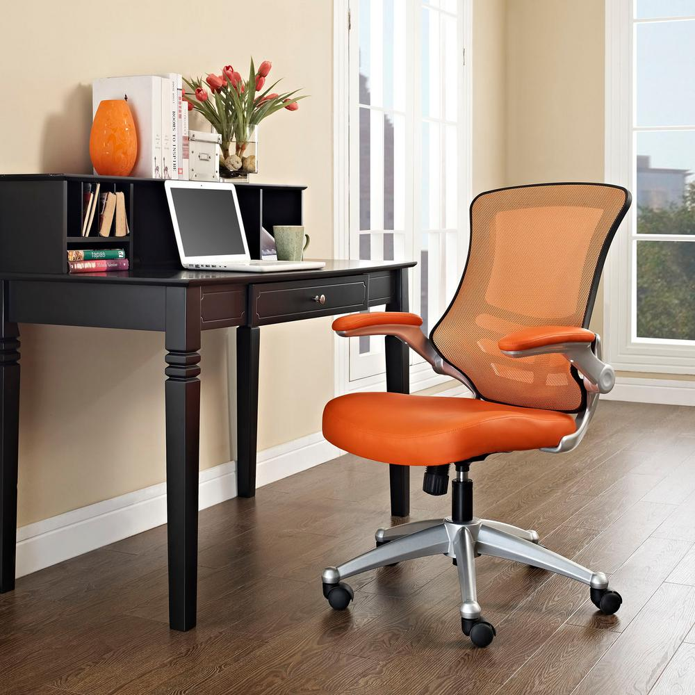 Modway Attainment Office Chair In Orange