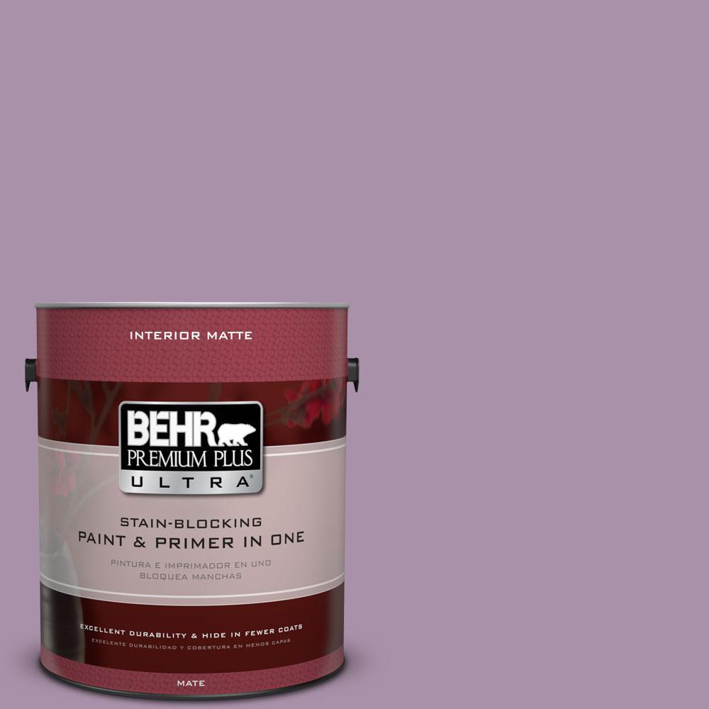 BEHR Premium Plus Ultra 1 gal. #670D-5 Garden Flower Flat/Matte Interior Paint