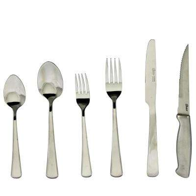 Baldwyn 24-Piece Mirror Polished Flatware Set