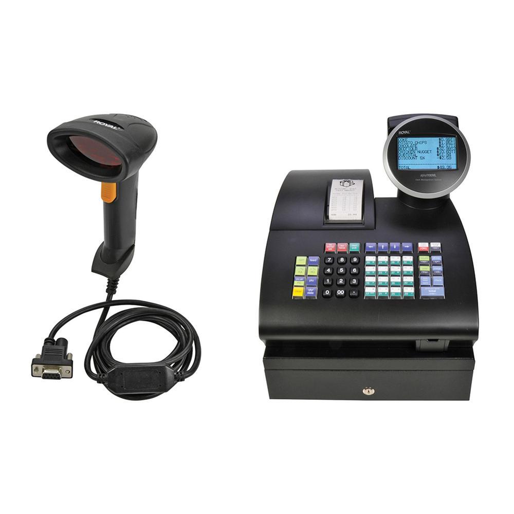Alpha 1100ML Cash Register with PS700-LSR Scanner