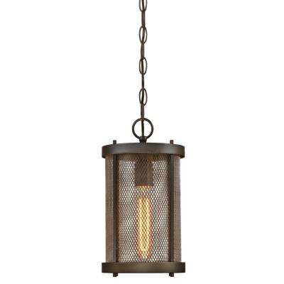 Skyview Oil Rubbed Bronze 1-Light Outdoor Hanging Pendant
