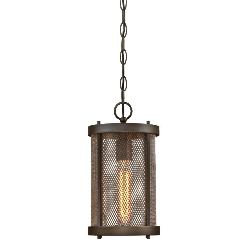 Skyview Oil Rubbed Bronze 1-Light Outdoor Hanging Pendant