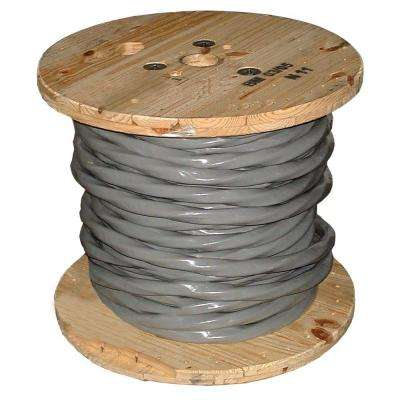 250 ft. 4/0-4/0-4/0-2/0 Gray Stranded AL SER Cable