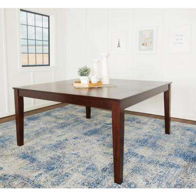 Classic Cappuccino Stain Resistant Dining Table