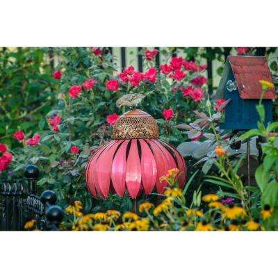 34 in. H Coneflower Bird Feeder