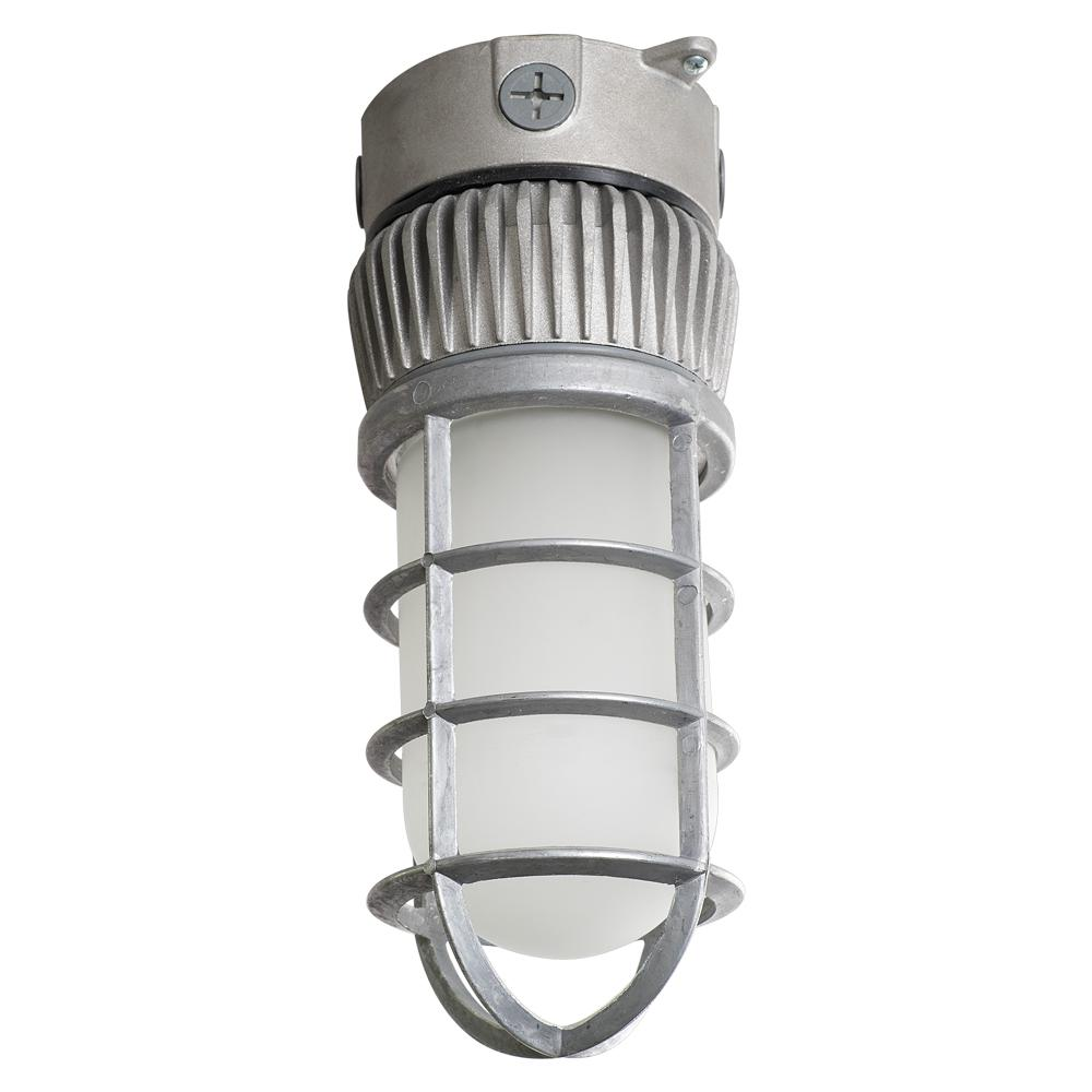 Vapor-Tight Sand Blast Gray Outdoor Integrated LED Area Light